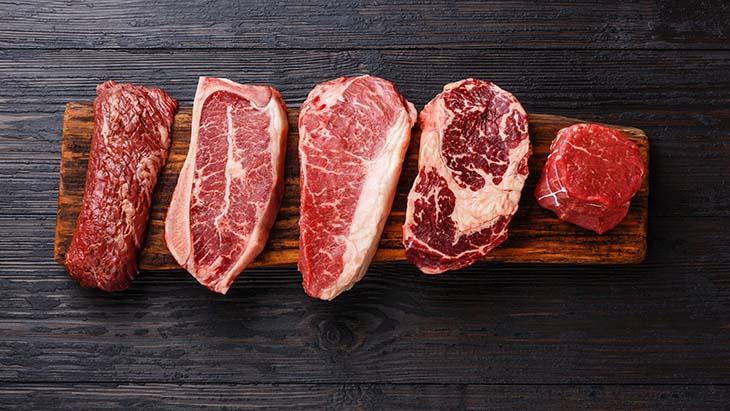 Thịt đỏ chứa hàm lượng sắt khá cao, kết hợp cùng lượng sắt trong cơ thể sẽ dễ gây bệnh đái tháo đường type 2