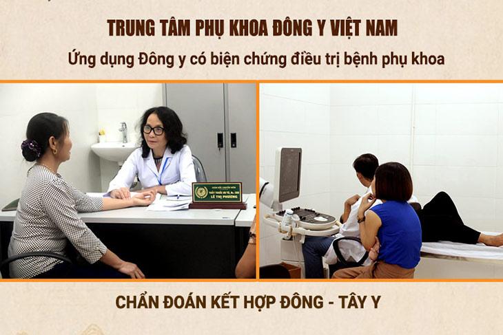 Trung tâm Phụ Khoa Đông y triển khai kết hợp Đông - Tây y điều trị viêm phụ khoa hiệu quả