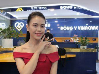 Làn da của chị Trang đã hồi sinh trở lại sau khi điều trị tại Viện Da liễu Hà Nội - Sài Gòn