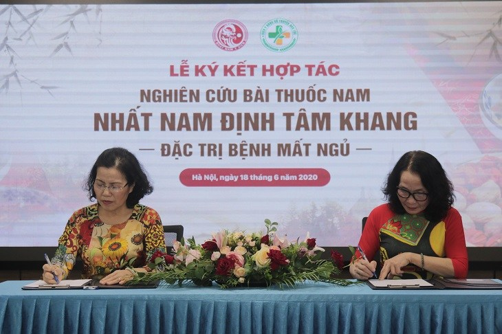 Lễ ký kết hợp tác giữa hai đơn vị đầu ngành YHCT