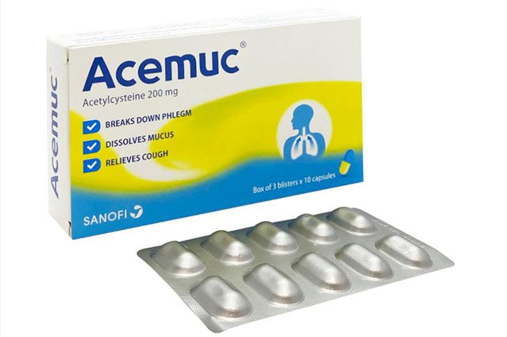 Thuốc được dùng nhiều để xử lý nhiễm độc là NAC (Mucomyst, Acemuc)