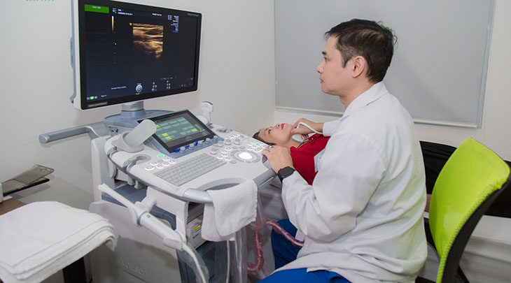 Siêu âm tuyến giáp giúp dò tìm và phát hiện những khối u xuất phát từ tuyến giáp