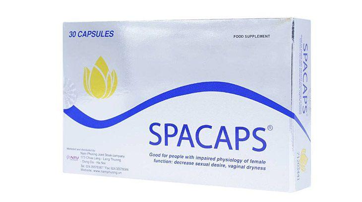 Spacaps tăng cường sinh lý nữ và cải thiện các triệu chứng do rối loạn nội tiết tố gây ra.