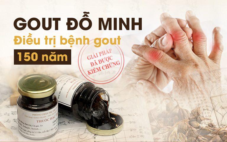 Bài thuốc gia truyền Gout Đỗ Minh