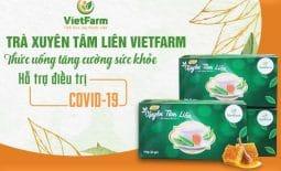 Sản phẩm trà xuyên tâm Vietfarm - Tăng cường sức khỏe, nâng cao sức đề kháng