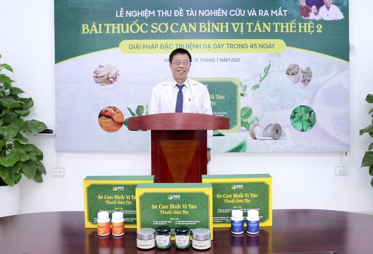 Thầy thuốc ưu tú - Bác sĩ Lê Hữu Tuấn đánh giá cao hiệu quả bài thuốc