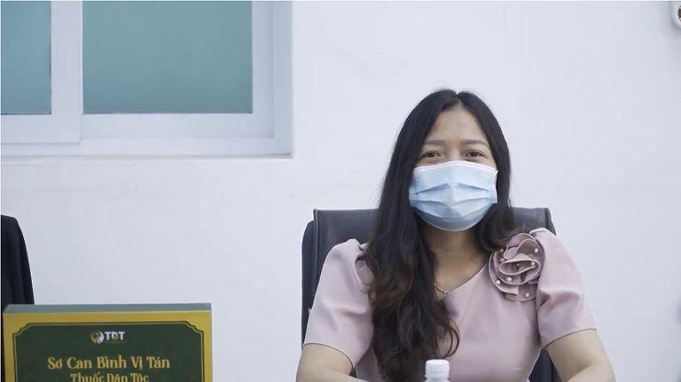 Bà Nguyễn Thị Lan Anh - Giám đốc điều hành Bệnh viện đa khoa Favina, phát biểu: