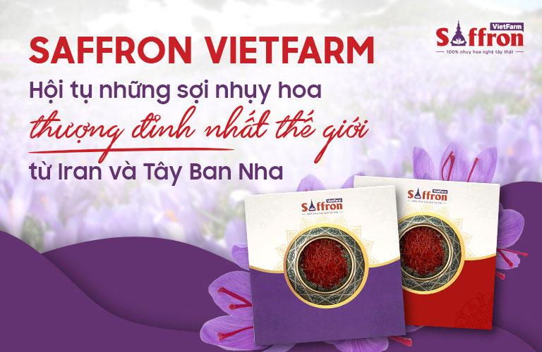 Saffron Vietfarm phân phối các loại nhụy hoa nghệ tây từ Iran và Tây Ban Nha