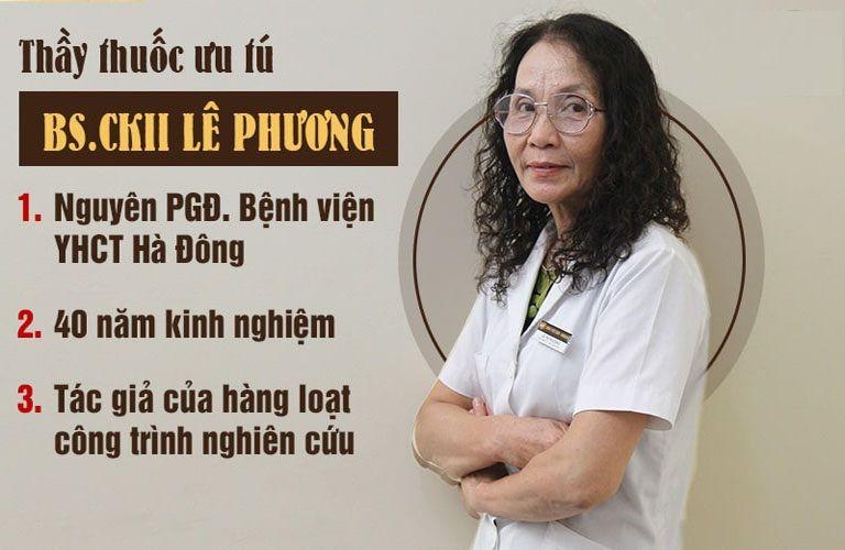 Bác sĩ Phương với 40 năm kinh nghiệm làm việc