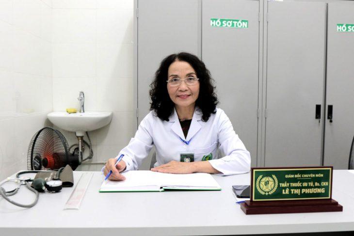 Thầy thuốc ưu tú, bác sĩ Lê Thị Phương