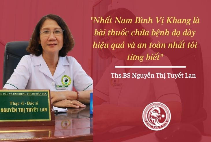 Ths.BS Nguyễn Thị Tuyết Lan đã có những chia sẻ về bài thuốc
