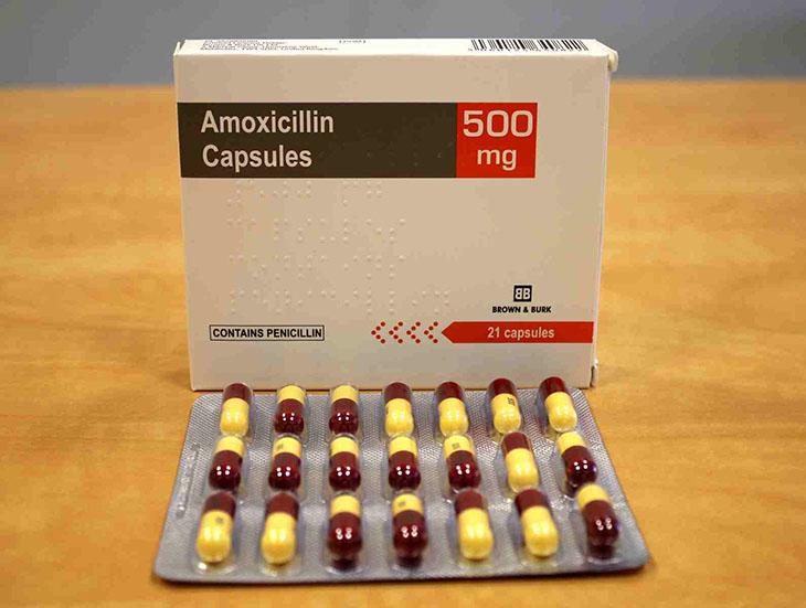 Amoxicillin được dùng để chữa bệnh