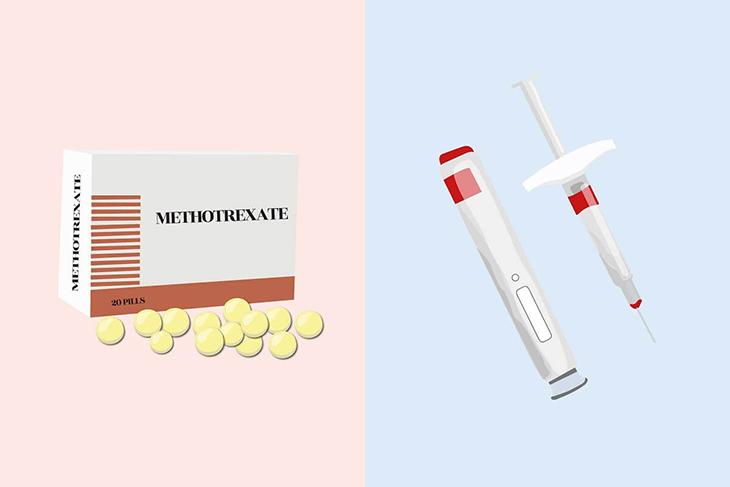 Thuốc được dùng phổ biến nhất để chữa thai ngoài tử cung là Methotrexate