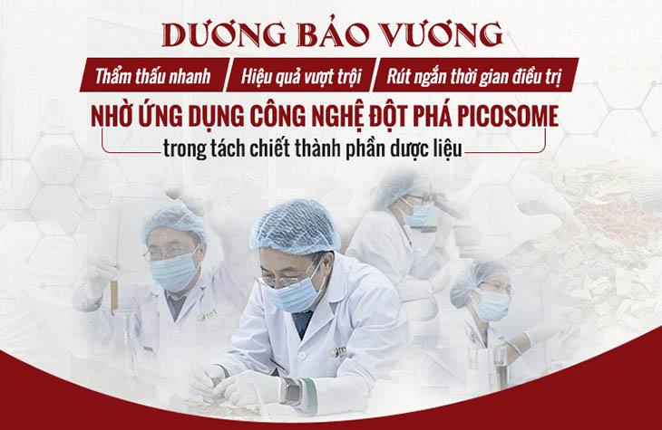 Công nghệ Picosome ứng dụng trong khâu tách chiết dược liệu để tối ưu dược chất cao nhất