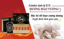 Bài thuốc sinh lý S73 Dương Bảo Vương chữa rối loạn cương dương