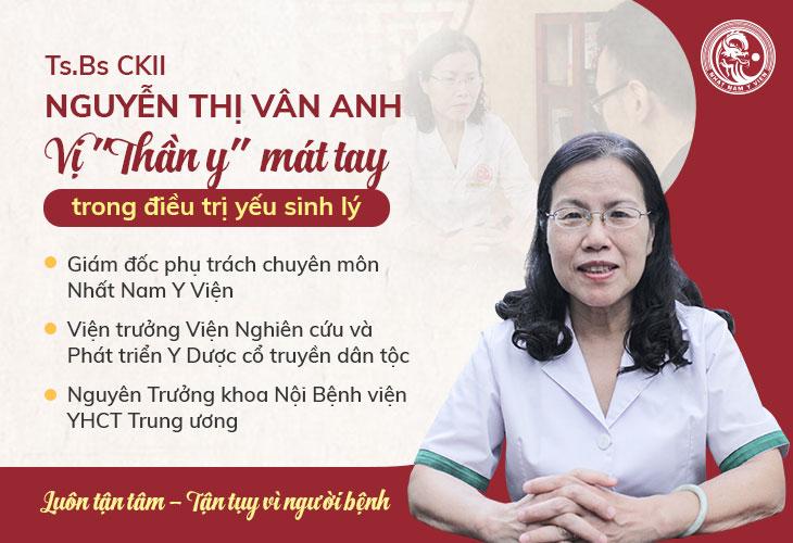 Bác sĩ Vân Anh là người trực tiếp nghiên cứu Uy Long Đại Bổ tại Nhất Nam Y Viện