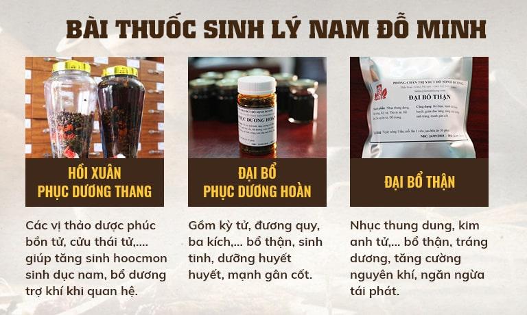 Bài thuốc được kết hợp từ nhiều thảo dược quý, an toàn cho người sử dụng