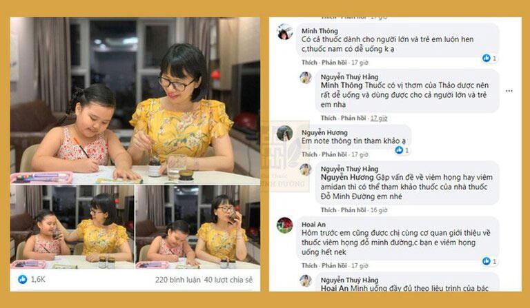 Chia sẻ của Hotmom Hà Thành được nhiều người quan tâm