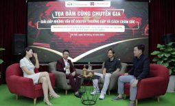Lương y Đỗ Minh Tuấn chia sẻ cách chăm sóc cột sống sau chấn thương cho Golfer trong buổi tọa đàm