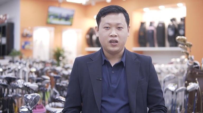 Ông Nguyễn Thành Long - Quý Golfer cảm thấy rất thích thú với món quà chăm sóc sức khỏe từ nhà thuốc Đỗ Minh Đường