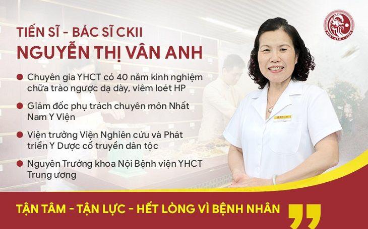 Bác sĩ Nguyễn Thị Thị Vân Anh - Giám đốc chuyên môn Nhất Nam Y Việt