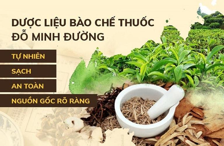 Thành phần thảo dược thuần Việt góp mặt trong bài thuốc Mề đay Đỗ Minh