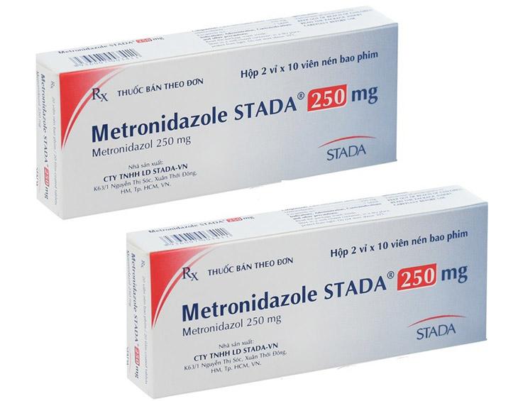Metronidazole được dùng trong một số trường hợp